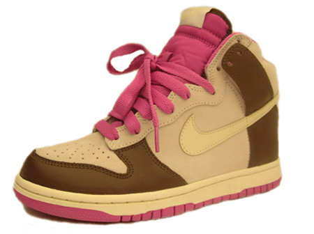 nike-shoe-womens-dunk-high-white-sail-light-chocolate-pink-1