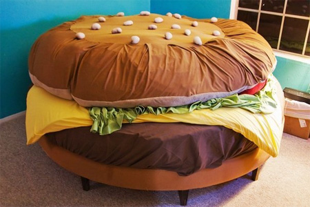 kids beds hamburger bed