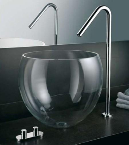 Luxury bath faucets